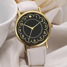 Relogio Femino 2017 new Women Girl Lide Leather Band Analog Quartz Watches Wrist Watch Feb09
