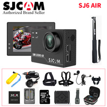 2017 Original SJCAM SJ6 Air Action Camera 2.0 Touch Screen WiFi 4K 24FPS Waterproof Notavek 96660 Action DV Sports wifi Cam