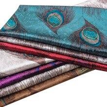 High-grade ice velvet fabric European-style printed sofa cloth thick handmade diy