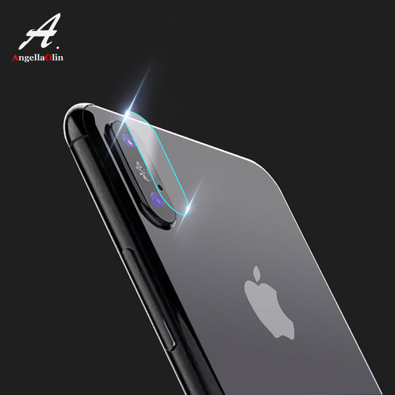 Top Back Camera Lens tempered glass For iPhone Xs Max XR 8 X 10 5 5s 5c SE 6 6s plus 7 screen protector film case Full Cover 7H iPhone XS