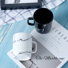 Modern Marble Decorative Pattern Ceramic Mug
