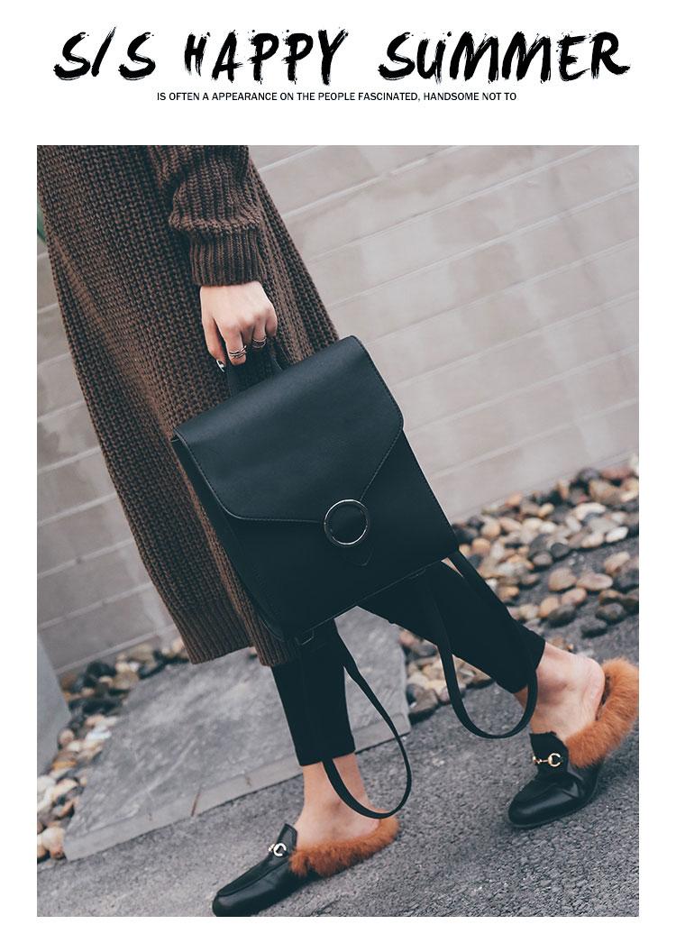 Retro Women's Rucksack Bag 29