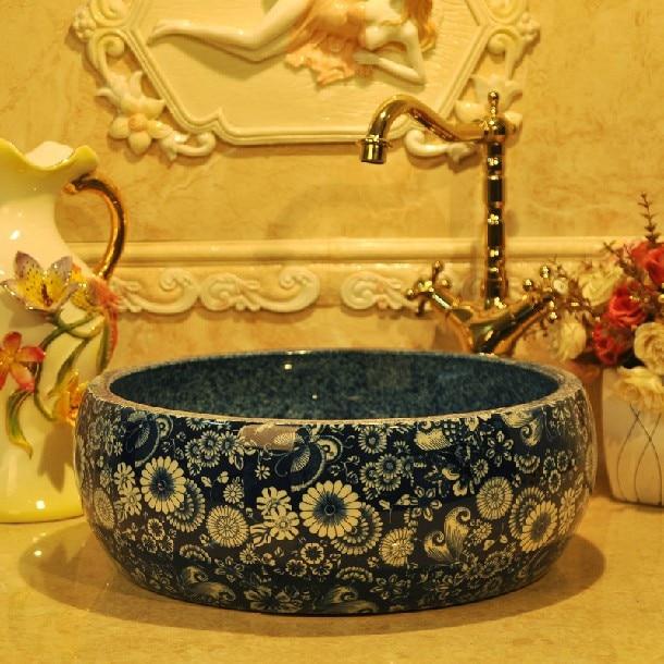 Grey Ceramic Vessel Sink Source · Flower Vessel Sink Reviews Online  Shopping Flower Vessel Sink