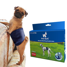 High Quality Male Dog Special Diaper Convenient And Comfortable Soft Toilet Training With Dog Underwear Durable Courtesy Belt