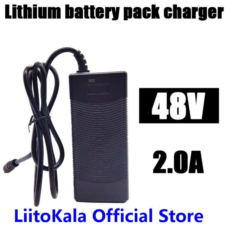 HK LiitoKala 48 v 2A ladegerät 13 s 18650 akku ladegerät 54,6 v 2a konstante strom konstante druck ist voll von selbst-stop