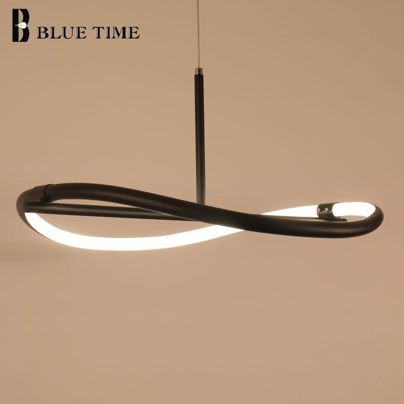 Einfache, Moderne LED Kronleuchter Für Esszimmer Küche Wohnzimmer Lampe  Kreative Hängende Lampe Led Kronleuchter Beleuchtung Leuchten
