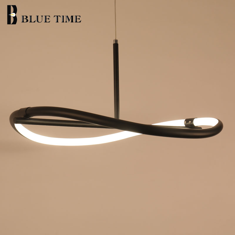 Simple Modern LED Chandelier For Dining room Kitchen Living room Lamp Creative Hanging Lamp Led Chandelier Lighting Luminaires modern creative wooden led chandeliers lamp for living room dining room led hanging white black chandelier lighting luminaire