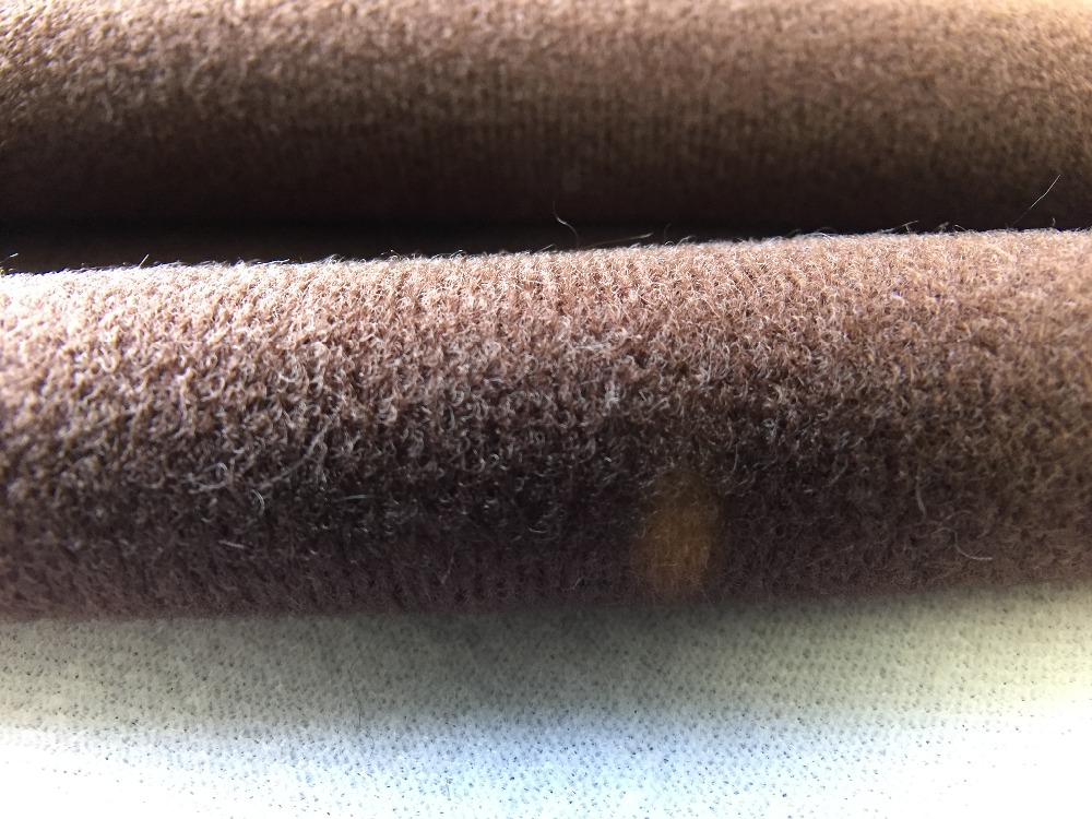 Dark brown fleece fabric for diy sewing stuffed toys sofa for Sewing material for sale