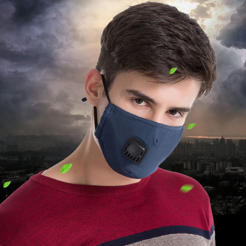 New 1 Pcs Mouth Face Mask Cotton Dustproof Breathable PM2.5 For Outdoor Cycling Winter VN 68