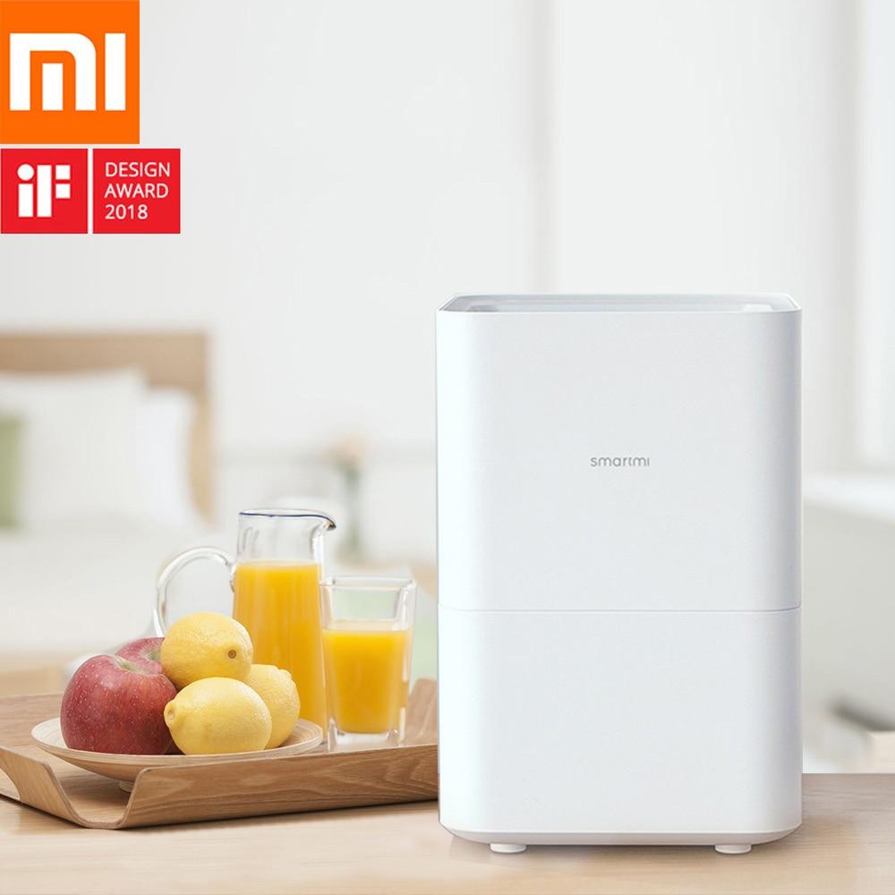Xiaomi Smartmi humidificador de aire evaporativo puro 4L evaporación automática de agua difusor de Aroma aceite esencial MIJIA APP Control