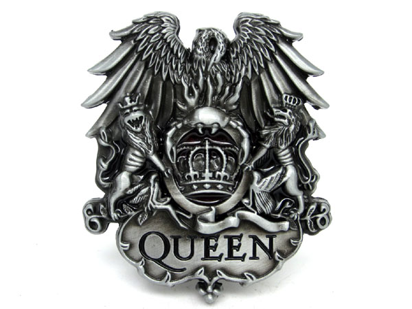 Queen Rock Music Belt Buckle