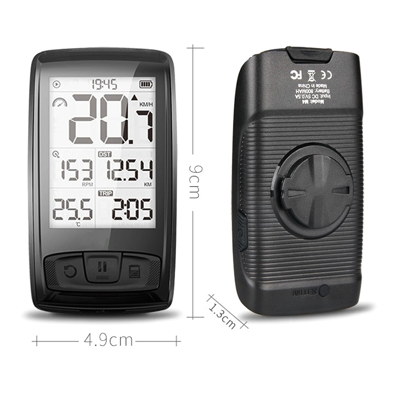 Bike Wireless Stopwatch Waterproof Chargeable Digital Display Speedometer for Bicycle WHShoppingBike Wireless Stopwatch Waterproof Chargeable Digital Display Speedometer for Bicycle WHShopping