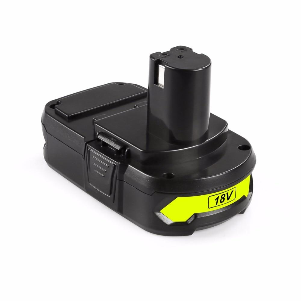 Cncool Ryobi P107 18 V 1.5Ah Li-ion batterie Rechargeable outil électrique utilisé pour les outils de forage livraison gratuite