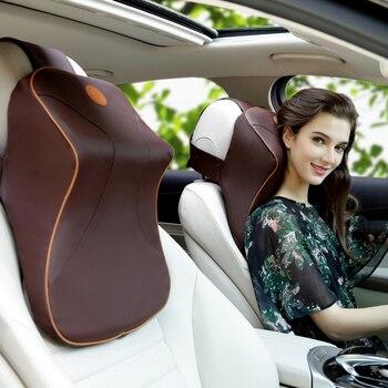3D Di Gomma Piuma Di Memoria Supporto Lombare Per Il Seggiolino Auto Sedia Da Ufficio Sedile Posteriore Auto Massaggiatore Cuscini