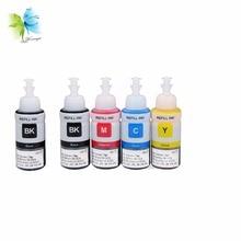 Winnerjet 5 Colors 100ml Bottles Refill Dye Ink for Canon Printer