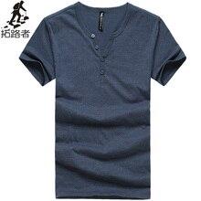 משלוח חינם! חדש 2017 חולצת קיץ הגברים t mens חולצה לנשימה דק דק 100% כותנה חולצת טי בסגנון קוריאני לגברים clothing(China (Mainland))