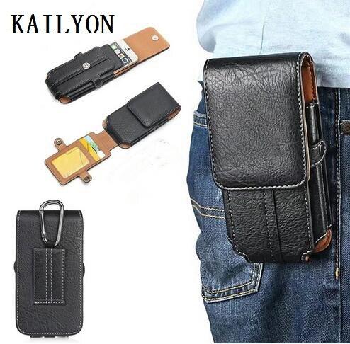 Waist Clip Holster Phone Bag Case For Blackview BV9000 Pro BV8000 Pro BV7000 Pro /LEAGOO S8 Pro /Cubot KingKong / Vernee MIX 2
