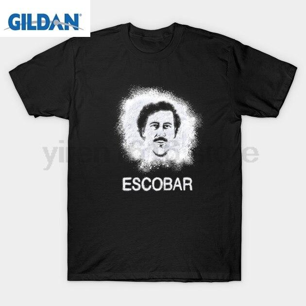 Escobar T-Shirt Narcos Pablo Escobar Narcos T Shirt Weed Mafia Scareface Luciano Capon Short Sleeve T-Shirt