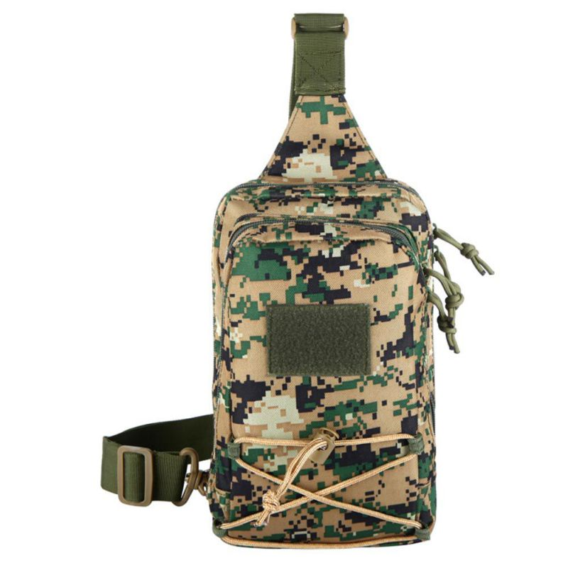 New Camouflage Bags Sports Shoulder Bag Background Tactics Small Chest Bag Front Personality phone Bag