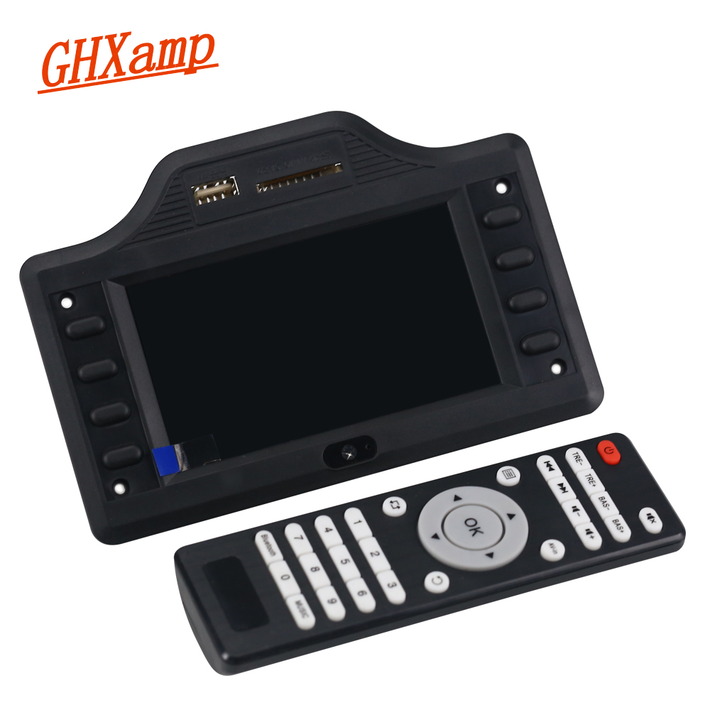 4.3 Inch LCD Decoder <font><b>2.1</b></font> Subwoofer <font><b>Bluetooth</b></font> Speaker Amplifier Auido Board <font><b>Bluetooth</b></font> Receiver MP4 MP5 50W*2+100W DC12V 24V image