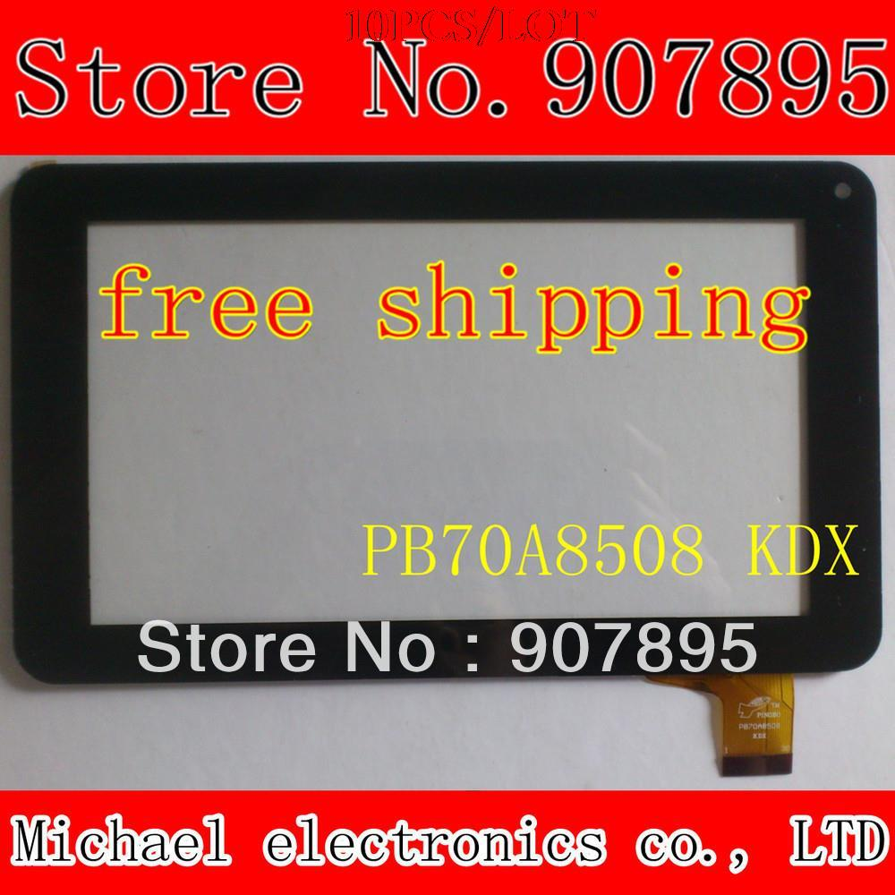 10pcS SL 003 ZJX TYF1039V3 7 INCH capacitive touch screen digitizer panel for All winner A13