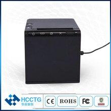 Новый USB 80 мм Термопринтер Bluetooth чековый принтер Wi-Fi билетов принтер для столовой печати чеков POS80B