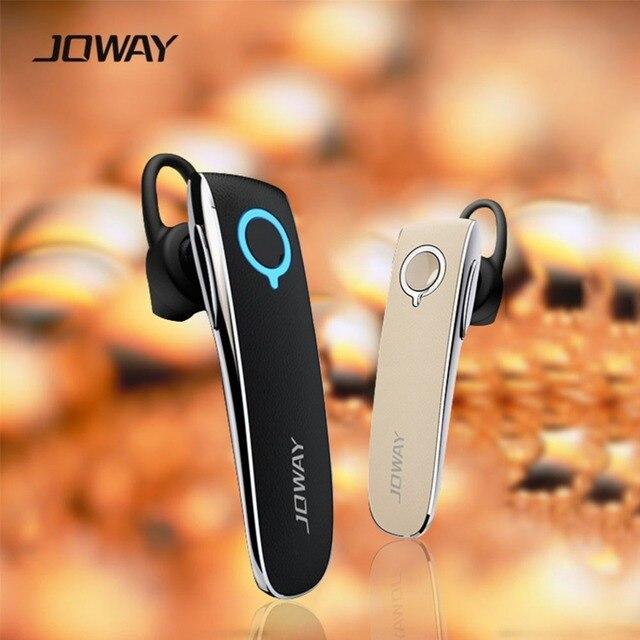 H05 Joway Стерео Bluetooth-гарнитура Smart Бизнес Стиль Кожа Наушники Наушники С МИКРОФОНОМ для Всех смартфонов fone де ouvido