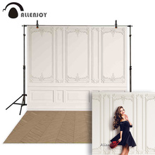 Allenjoy backgrounds for photography studio gorgeous palace style solid color wall stripe classic decoration backdrop photocall