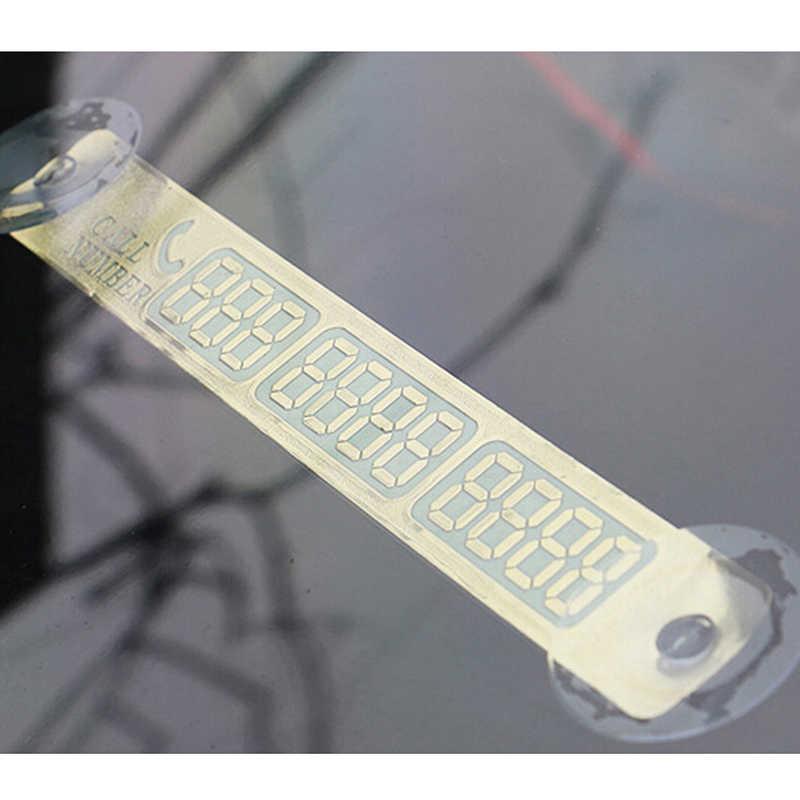 1 шт. Автомобильная наклейка Временная парковочная карта для Mercedes-Benz серии-A B C E S G M ML GLK CL CLK CLS GL GLK R SL SLK SLS AMG TPMS