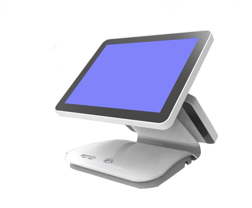 New Arrival 15.6+12.1 Inch Android Touch Screen Pos For Retail Shop