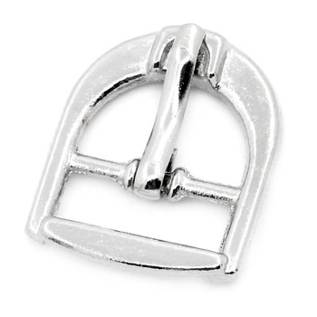 30Pcs Silver Tone Buckles Clasps DIY Shoes Bags Making Accessory 21x17mm(7/8x5/8)