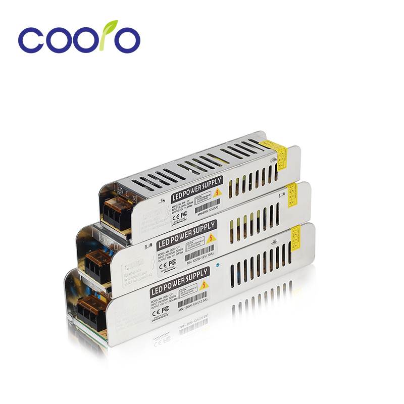Ultra-narrow width LED Driver Switching Power Supply AC220V DC12V 60W 120W 150W LED Power Adapter Transformer For LED Strip