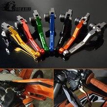 Motocross Motorcycle Dirt Bike Pivot CNC Aluminum Brake Clutch Lever For KTM 105SX 105XC 105 SX XC 2007-2011 Pit Handle