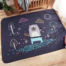 Детские блестящие детские игровые коврики детские головоломки ковер с рисунком замшевые большие ковры коврик для гостиной Дети Спальня теплое одеяло