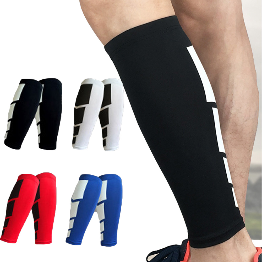 Sport Protector High Elasticity Sports Leg Warmers Lower Leg Pressure Socks SPSLF0011