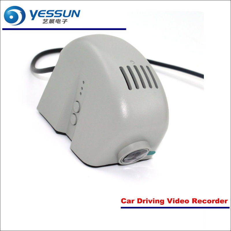 YESSUN Car Front Camera For Audi R8  DVR Driving Video Recorder Black Box Dash Cam Head Up Plug OEM 1080P WIFI bigbigroad for mitsubishi asx lancer 10 9 l200 outlander pajero sport car wifi dvr driving video recorder dash cam black box