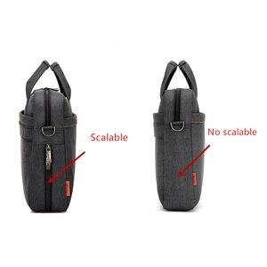 Image 5 - Bolsa para laptop 17.3 17 15 14 13 polegadas, à prova de choque, airbag, impermeável, masculina e feminina, luxo, grossa, para notebook novo 2018