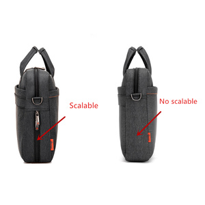 Image 5 - Laptop bag 17.3 17 15 14 13 inch Shockproof airbag waterproof computer bag men and women luxury thick Notebook bag 2018 new