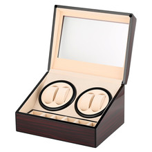 Luxury Wooden Watch Winder Box Motor Shaker Holder Watch Storage Boxes High Quality Automatic Mechanical Watches Winding Machine цена