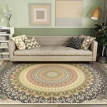 American Retro Style Persian Carpets Area Rug For Bedroom Living Room Kitchen Baths Mat Door Floor Rug Anti-Slip Home Carpet недорого