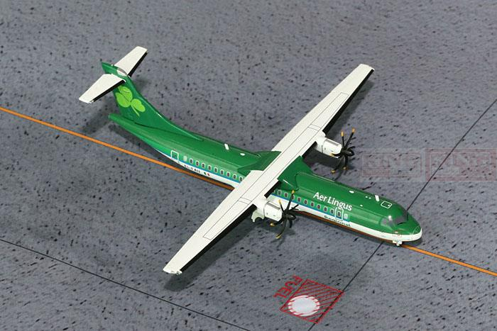 GeminiJets Irish Aviation EI-FAU G2EIN427 1:200* ATR-72 Commercial Jetliners Plane Model Hobby