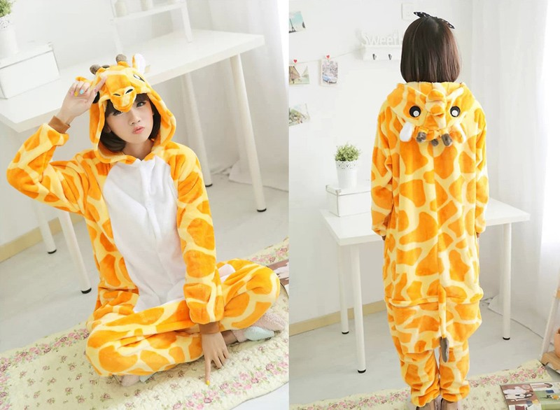 giraffe pajama