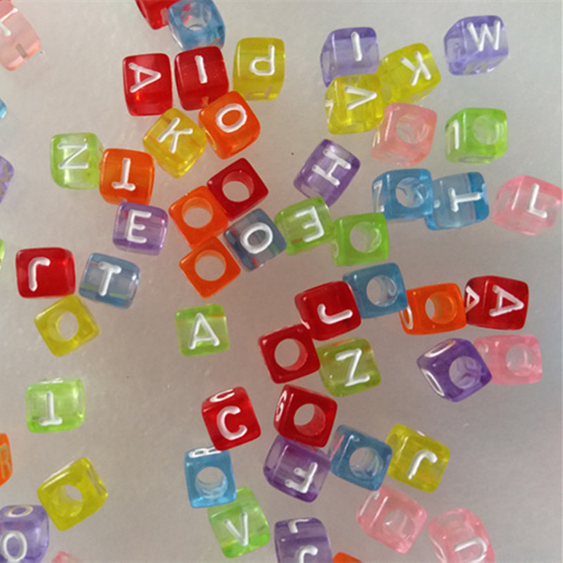 100 Pieces Beads For Children Perles Enfant Girls Gifts Creative Crafts Accessories Jewelry Kids Kralen Kind 7 Years Diy Beads