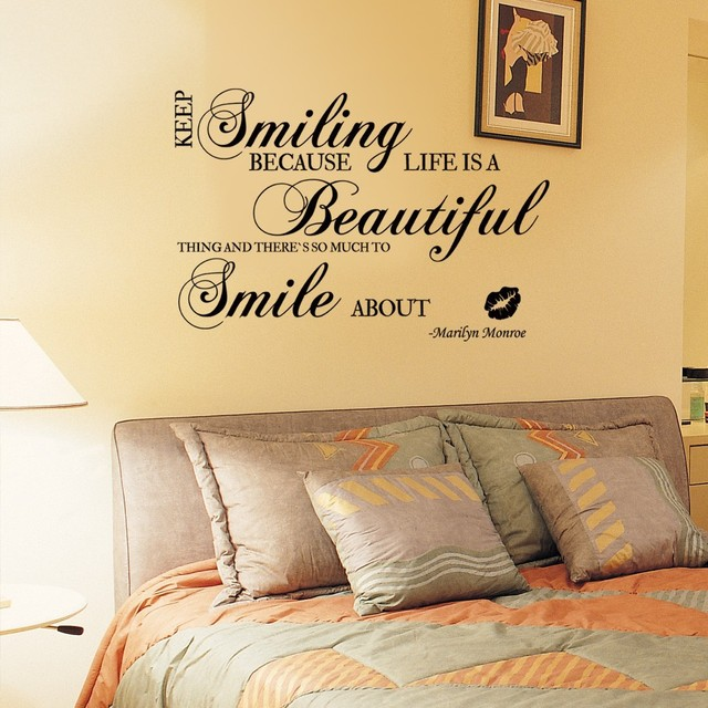 Marilyn Monroe Quotes Life\'s A Beautiful Thing Keep Smiling ...