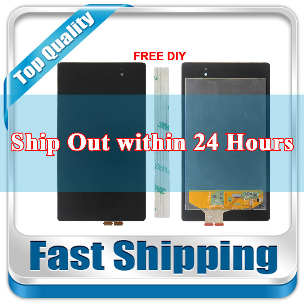 New For Asus Google Nexus 7 2nd Generation 2013 ME571K ME571KL Replacement LCD Display Touch Screen Assembly Black все цены