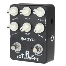 JOYO JF-17 Extreme Metal Electric Guitar Effect Pedal Box 3-Bands Powerful EQ & 6 Knobs Musical Instrument Guitar Accessories