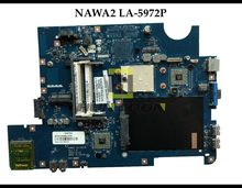 High quality NAWA2 LA-5972P for Lenovo Ideapad G555 laptop Motherboard mainboard Socket S1 DDR2 AMD 100% Fully Tested(China)