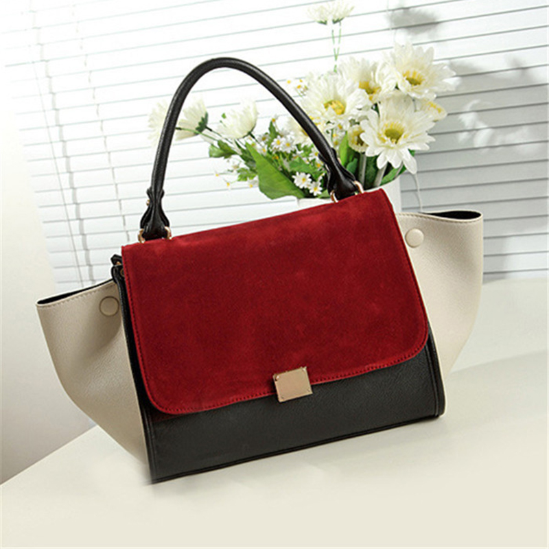 moda bolsa bh159 Material : Suede Faux Leather, smooth Faux Leather