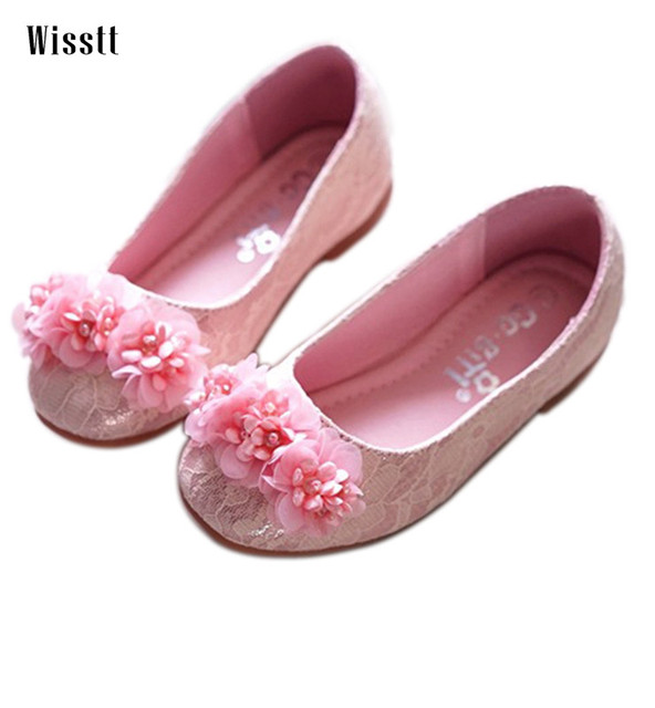 Wisstt lace shoes gorgeous wedding flower girl shoes pink silver wisstt lace shoes gorgeous wedding flower girl shoes pink silver princess kid birthday shoes quality single mightylinksfo