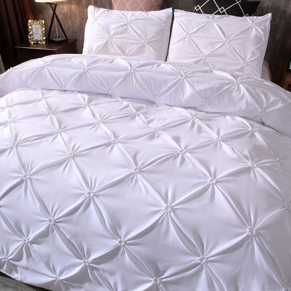 3 шт. роскошные наборы постельных принадлежностей пододеяльник кровать для наволочки пододеяльник наборы простыней пододеяльник домашний отель домашний интерьер